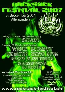 Rocksack 2007